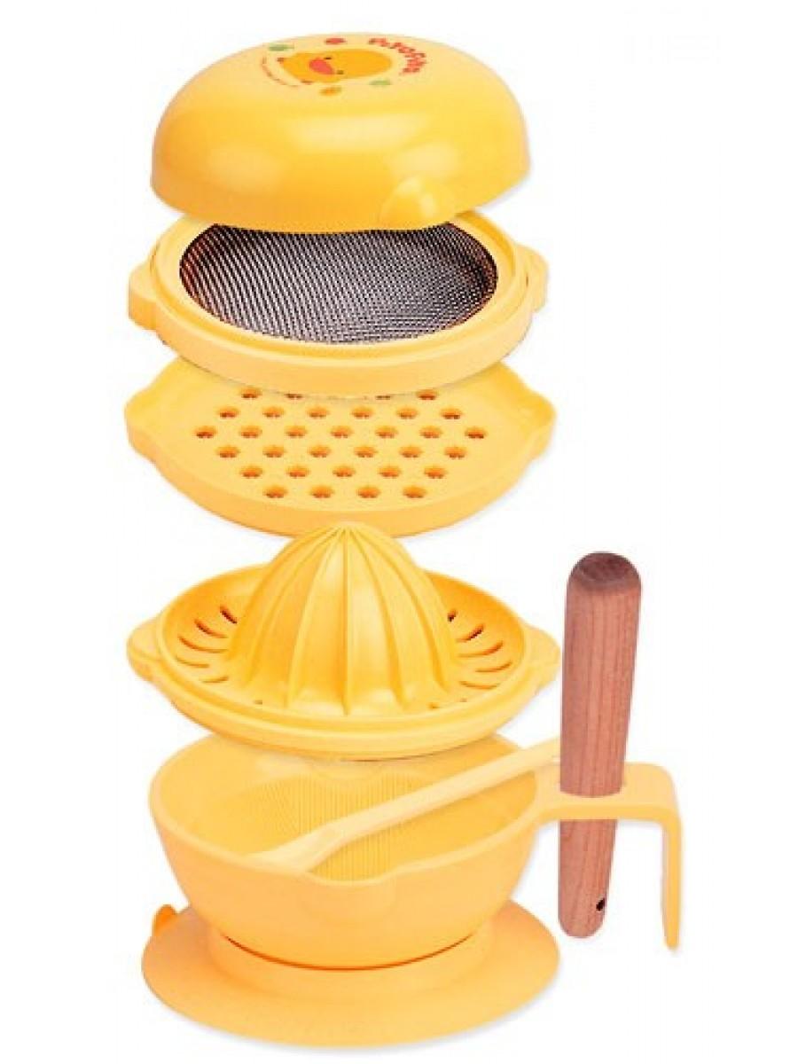 黃色小鴨嬰兒食品製造機 - Baby Food Processor Set