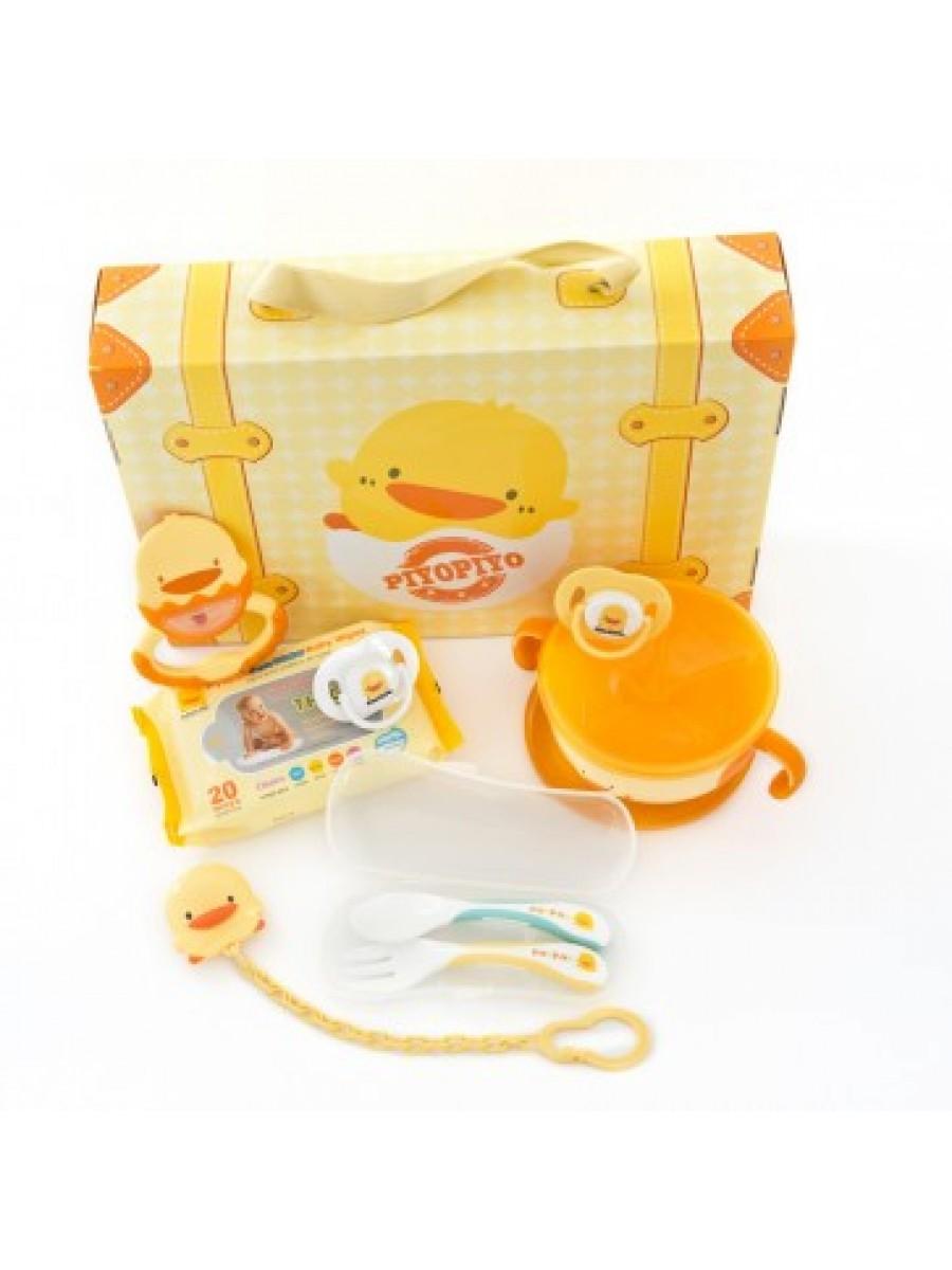 黃色小鴨 嬰幼兒旅行包 Piyo Piyo Baby Travel Kit