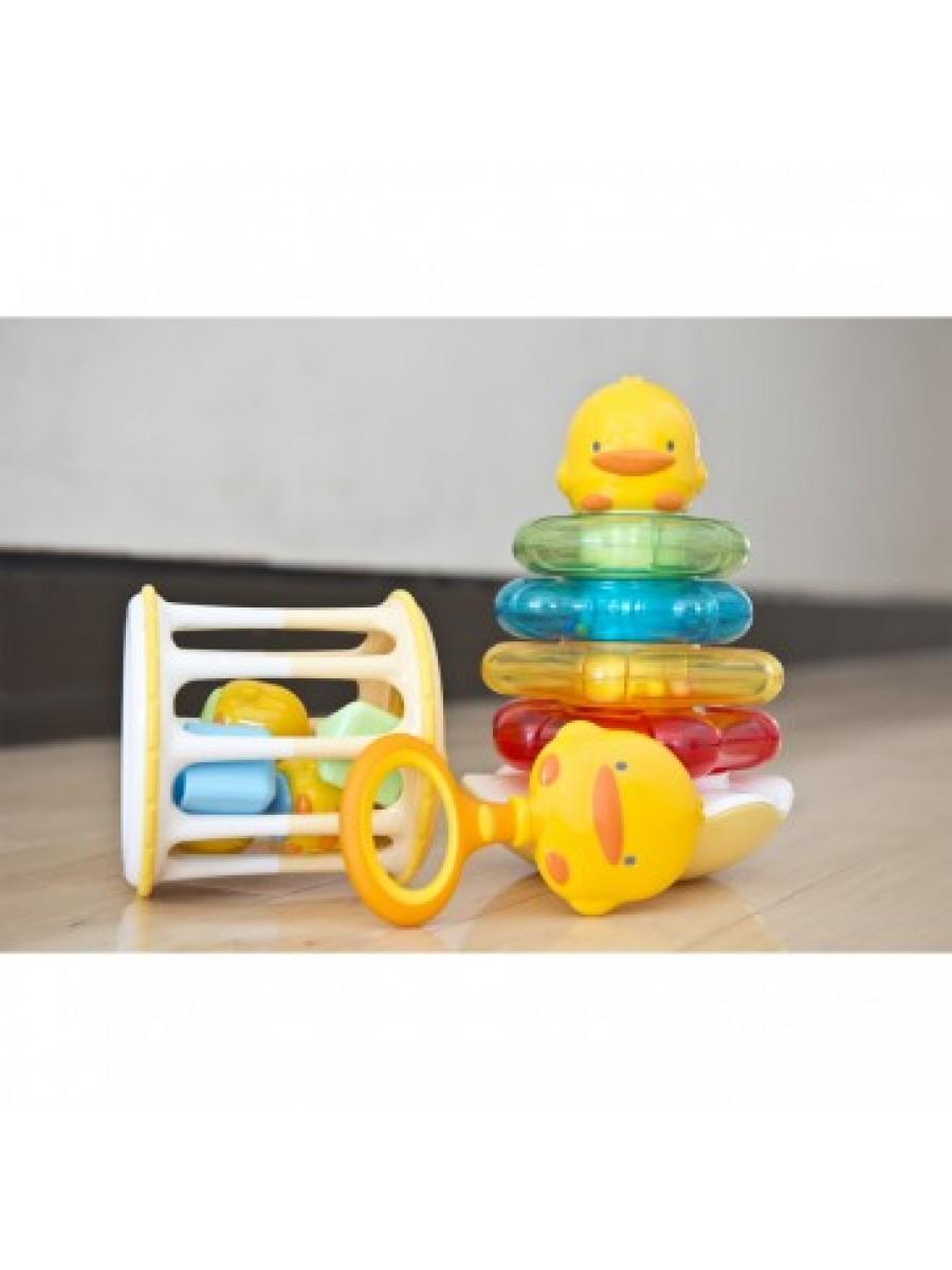 黃色小鴨嬰幼兒玩具禮品套裝 Piyo Toy Gift Kit