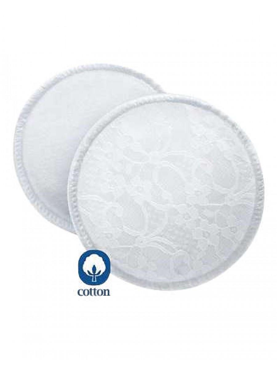 AVENT 可洗式溢乳墊(6入)
